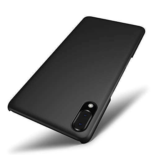 SLEO Hülle für Sony Xperia L3 Hülle,Ultra Dünn Schutzhülle [Anti-Fingerabdrücke] [Anti-Scratch] Harte PC Handyhülle Tasche Schale Hardcase für Sony Xperia L3- Schwarz