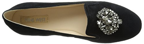 Nine West Longshot Daim Mocassin Black