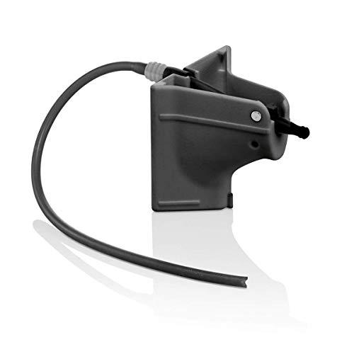 Siemens TZ90008 Milchadapter (für den Kaffeevollautomaten Siemens EQ.9, für nahezu jedes Milchbehältnis geeignet, spülmaschinengeeignet) schwarz