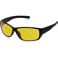 Fastrack Wrap Sunglasses (Black) (P293AM4)