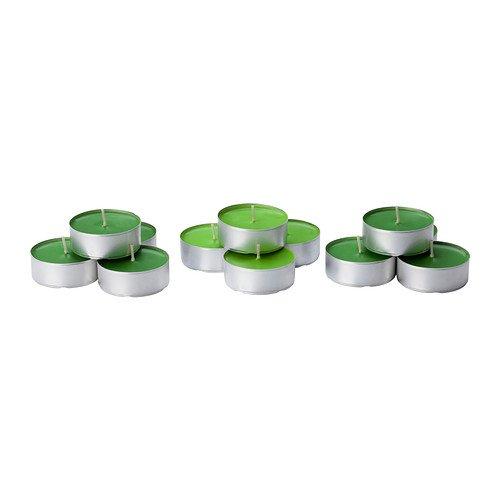 Vela perfumada SINNLIG IKEA ha sido, manzana, verde - (, 30 unidades)