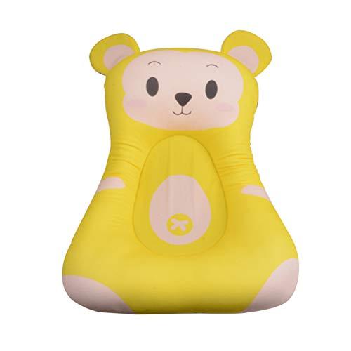 STOBOK Babybadewatte weiche Anti-Skid Baby badewanne Matte duschkissen Rutschfeste Kind Bad pad Sitz (AFFE)