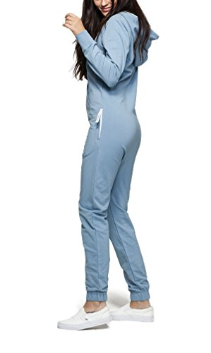 OnePiece Unisex Jumpsuit Original, Blau (Dusty), 34 (Herstellergröße: XS) - 5
