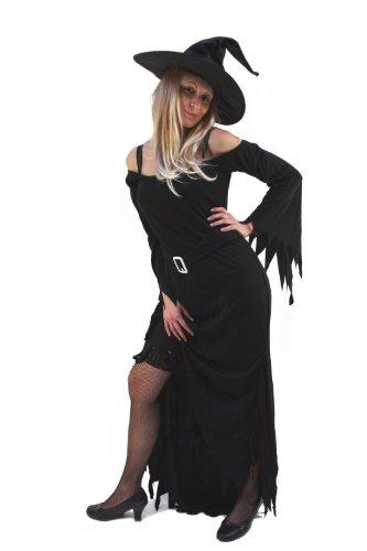 DRESS ME UP Kostüm Hexe Wicked Witch Kleid Halloween Vampir Gr. 38