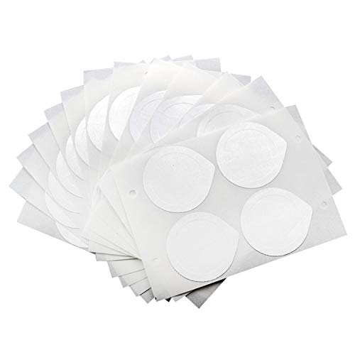 31MKesVfvDL. SS500  - 120pcs 30 Sheets Self Adhesive Aluminum Foil Lids to Reuse Capsules Compatible with Nespresso Machine Coffee Capsules