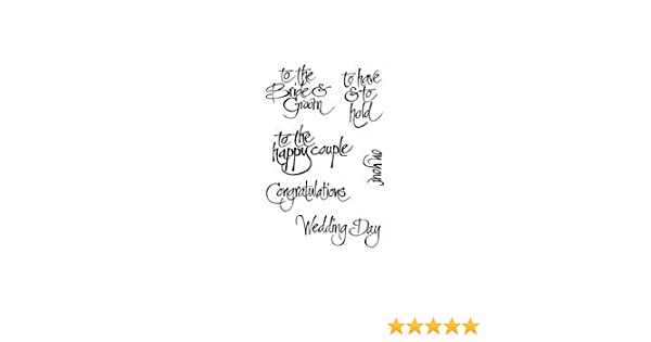Woodware Clear Stamp Set I Meant To…..
