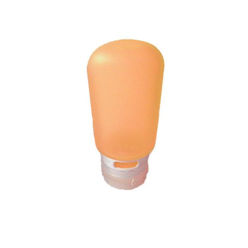 umangear Go Toob Einzelne Reise-Flaschen für Flüssigkeiten, Orange, 60ml -