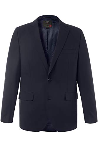 JP 1880 Herren große Größen bis 72, Anzug-Jacke, Baukasten-Sakko Zeus, FLEXNAMIC®, Schnurwoll-Qualität Navy 72 705512 70-72 -