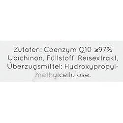 Coenzym Q10 von Nature Love - Aktionspreis - Mit 200mg pro Kapsel. 120 Kapseln im 4 Monatsvorrat. Premium Qualität: Pflanzlich, aus Fermentation. Vegan, hochdosiert, hergestellt in Deutschland