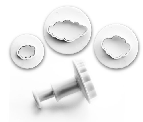 IBILI 788409 - Set 3 Cortadores con Expulsor Nubes