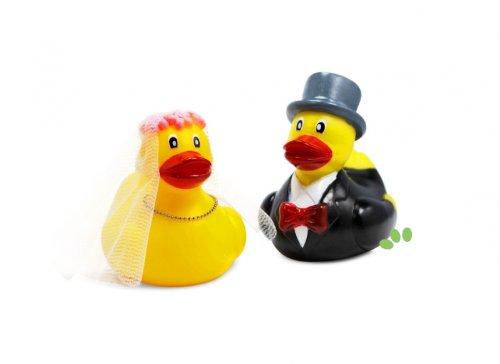 Entenpaar Hochzeit - Die Geschenkidee für Paare