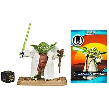Star Wars 2012 Clone Wars Animated Action Figure CW No. 05 Yoda (japan import)