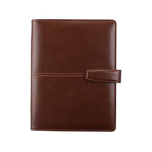 CYOS A5 Größe Personal Organizer Planner Spiral Notebook Binder mit 6 Ring Magnetknopf