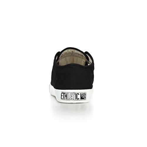 Ethletic Fair Skater urban style – jet black aus Bio-Baumwolle – schwarz - 4