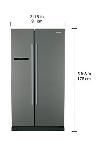 Samsung 545 L Frost Free Side-by-Side Refrigerator(RSA1SHMG1/TL, Metal  Graphite, Inverter Compressor) | Home and Kitchen, Large Appliances,