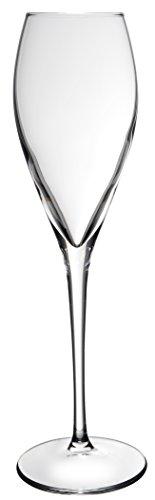 Novastyl 8013491.0 Lot DE 3 Flutes de Contenance Verre Transparent 32,4 x 4,5 x 25,5 cm 22,5 cl