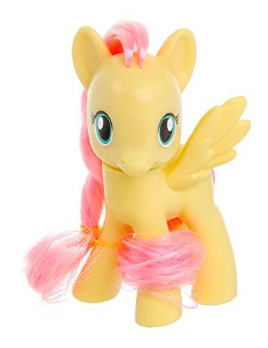 Meine kleinen Ponys My Little Pony Spielfiguren Sammelfiguren Miniatur für Kinder, Mädchen, verschieden Charaktere 8 cm (Gelb-Fluttershy) (Meine Kleine Spielzeug-ponys)