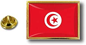 Spilla Pin pin's Spille spilletta Giacca Bandiera Distintivo Badge Tunisia