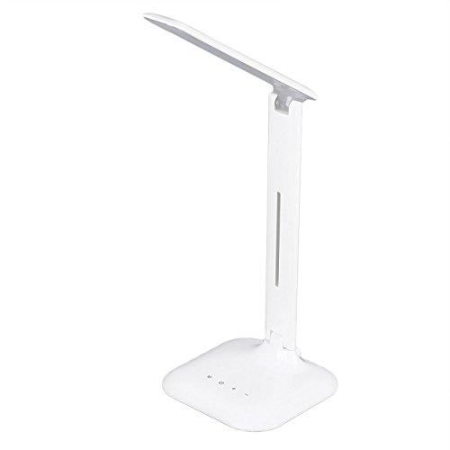 Tsing Dimmbar Tischleuchte Schreibtischleuchte Schreibtischlampe Tischlampe schwenkbar klappbar Tageslichtsweiß, Kaltweiß, Neutralweiß, Warmweiß [Energieklasse A+]