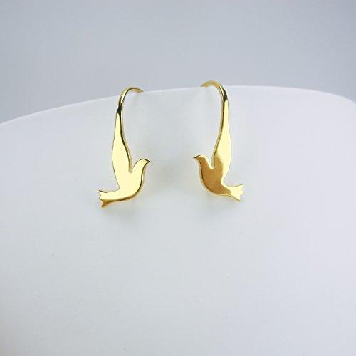 GOLDY - Orecchini in argento 925 placcato oro 24k