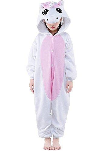 Très Chic Mailanda Unisex Cartoon Kigurumi Anime Cosplay Onesie Tierkostüme Pyjamas Schlafanzug (Pikachu Mädchen Kostüm)