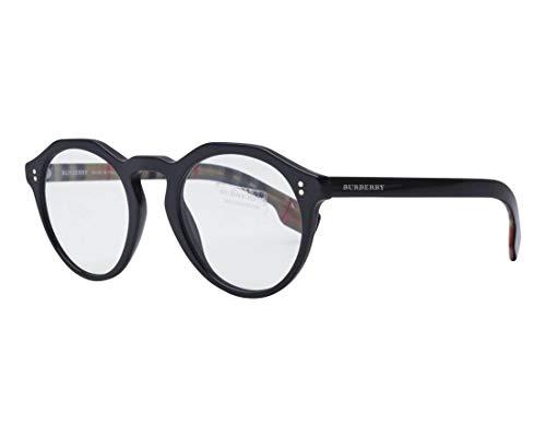 BURBERRY Brille (BE-4280 37731W) Acetate Kunststoff glänzend schwarz - bedruckt beige