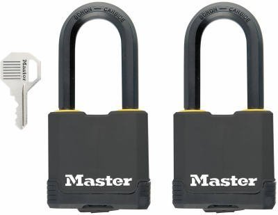 Master Lock Magnum Covered All Weather Laminated Steel 2