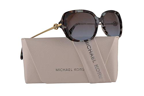 Michael Kors MK2065 Carmel Sunglasses Teal Tort w/Purple Blue Gradient Lens 54mm 315448 MK 2065