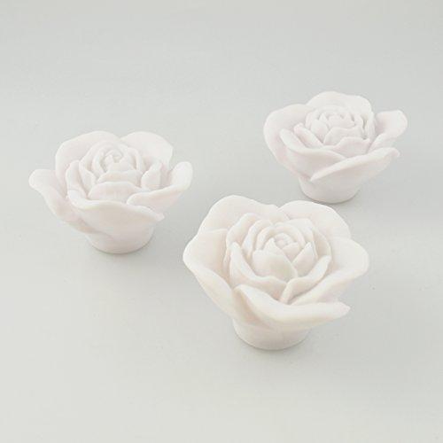 Rose Bath Brilla Juego de 3 . Agua Activado Flotantes de baño Luces. relajante