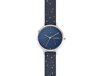 Skagen Womens Analogue Quartz Watch with Leather Strap SKW2762