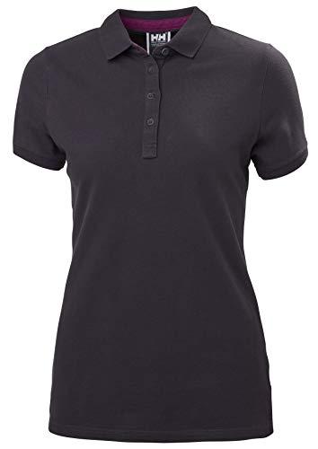 Helly Hansen Damen Crew Pique 2 Polo Hemd, Nightshade, XL -