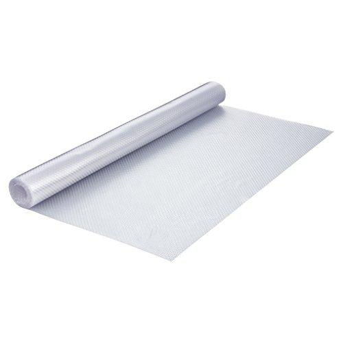 haggiy Schubladeneinlage - Küchenschrankeinlage 200 x 48 cm, rutschfest und elastisch (Transparent) -