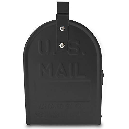 US Mailbox Amerikanischer Briefkasten Standbriefkasten Wandbriefkasten Letterbox Schwarz - 5