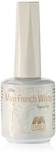 maica Allemagne Gel UV Maxi French White, 1er Pack (1 x 12 ml)