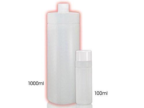 Bouteille en plastique vide bouteille 1000 ml - 70 ST.