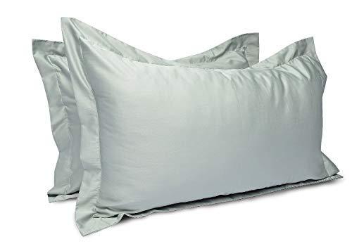 Funda de almohada de 2 piezas !!! Es un producto tan maravilloso. Lleno de confort, lujo, suavidad y artesanía inmejorable. Es seguro que si una vez lo usa, nunca usará nada más en su cama. Algodón egipcio de calidad 100% algodón se usa para hacer ro...