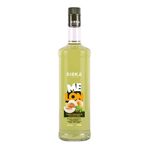 RISKA - Melón Licor Sin Alcohol 1L