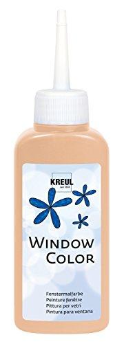 KREUL 42733 (Window Color, 80 ml) hautfarben