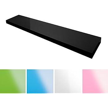 ikea lack wandregal 110cm schwarz k che haushalt. Black Bedroom Furniture Sets. Home Design Ideas