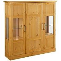 Suchergebnis Auf Amazon De Fur Kiefer Vitrine Loft24 Wohnzimmer