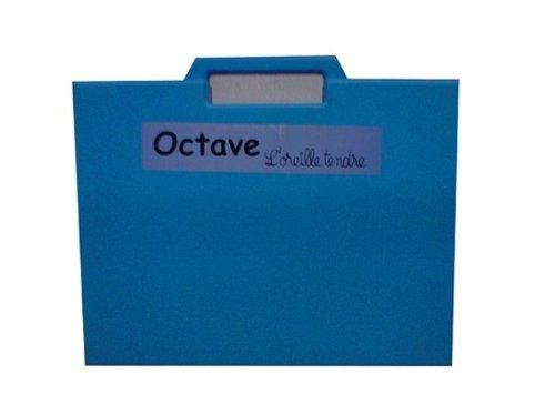 Octave, l'Oreille Tendre (Valisette) + CD - Éveil Musical par Villemin Sylvie