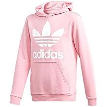 felpa adidas donna rosa e bianca