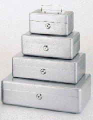 Maul Geldkassette 1, Silber, Münzgeldeinsatz Herausnehmbar, 153 x 81 x 125 mm, 5610195, 1 Stück