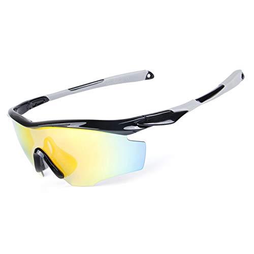 Gnzoe PC Polarisierte Sonnenbrille Sandkontrolle Fahrradbrille für Motorrad Fahrrad...