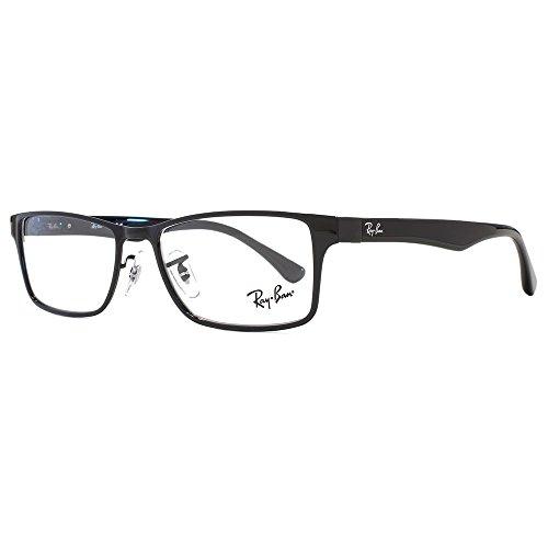 Ray-Ban Unisex-Erwachsene Brillengestelle 6238 Schwarz (Negro), 55