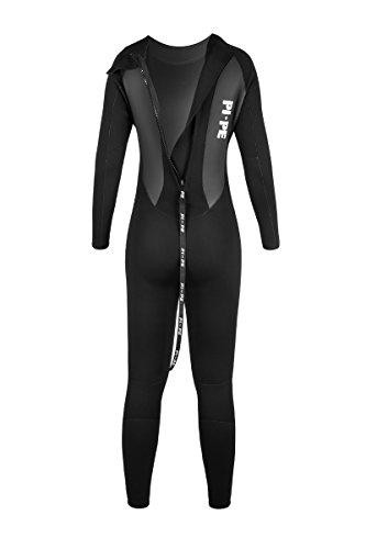 Pro Full Long Sleeve Neoprenanzug, schwarz/grau - 5