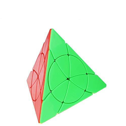 Gobus YONGJUN YJ Flower Petal Pyraminx Triangle Blütenblatt Pyraminx Dreieck Magic Cube Puzzle Speed Cube Spielzeug Stickerless