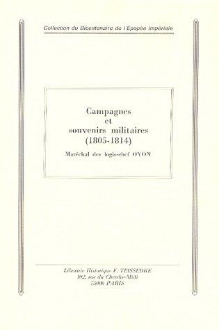 Campagnes et souvenirs militaires (1805-1814) : Extraits du Carnet de la Sabretache, années 1913-1914