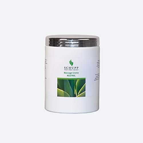 Schupp Massage Creme neutral 1000 ml