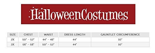 (Deluxe Plus Size Long Dress Wonder Woman Fancy dress costume 3X)